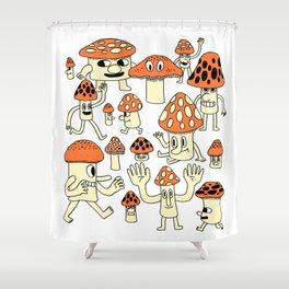 Fun Guys Shower Curtain