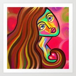 Love is Near Art Print