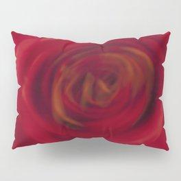 Awakening Red Rose Pillow Sham