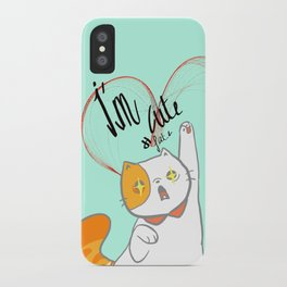 exotic short kitty iPhone Case