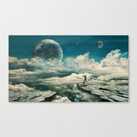 Canvas Prints featuring The explorer by Seamless