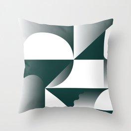 Midnight Pattern Throw Pillow