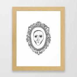 framed no one Framed Art Print