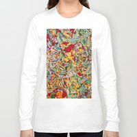 emerald Long Sleeve T-shirts featuring Emerald by VPart