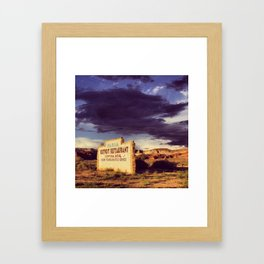 Paria Outpost Framed Art Print