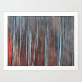 Abstract Forest Photography Art Print