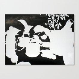 Indoor Garden Canvas Print