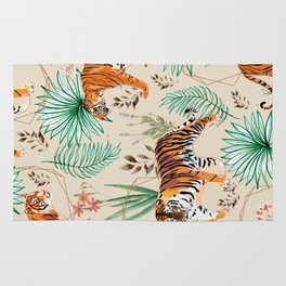 Tropical & Tigers Rug