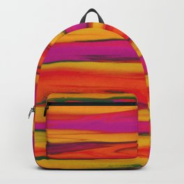 Tropical Beach Sunset Paradise Backpack