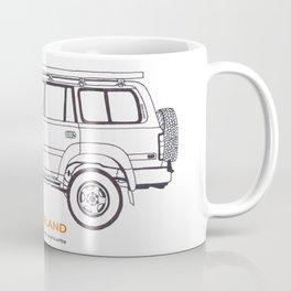 Land Cruiser 80 Series Coffee Mug