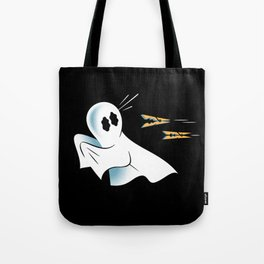 A Fearful Phantom (Black) Tote Bag