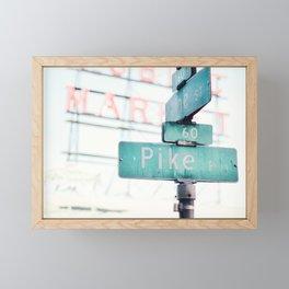 pike Framed Mini Art Print