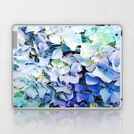 Soft Tri-Color Pastel Hydrangea Laptop & iPad Skin
