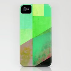 Green City Abstract Slim Case iPhone (4, 4s)