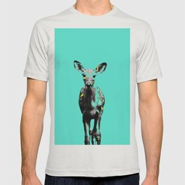 Deer III multicolor T-shirt