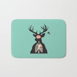 Deer Anatomy Bath Mat