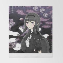 Homura Akemi Throw Blanket