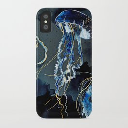 Metallic Ocean III iPhone Case