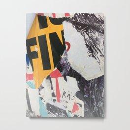 Berlin Posters-FIn Metal Print