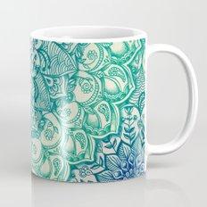 Emerald Doodle Mug