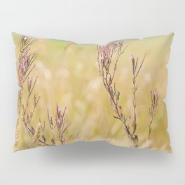 Two pink wildflowers Pillow Sham