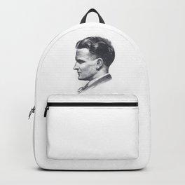 A portrait of F Scott Fitzgerald Backpack