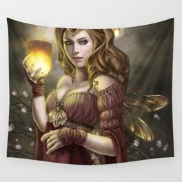 Floating Lights Wall Tapestry