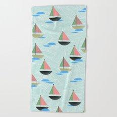 Come Sail Away Beach Towel