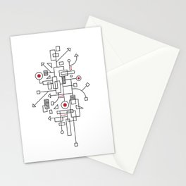 Doodle-2 of 3 Stationery Cards