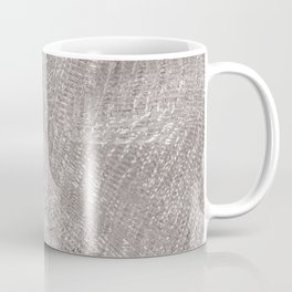 Sparkling metallic textile background Coffee Mug
