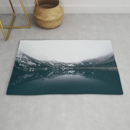 Alpine Lake Refletions Rug