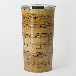 Yesterday's Music Travel Mug
