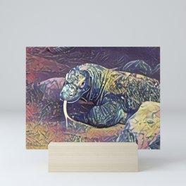 Komodo Dragon Mini Art Print
