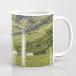 Sheep on Torr Head, County Antrim, Northern Ireland Coffee Mug