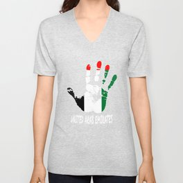 United Arab Emirates Unisex V-Neck