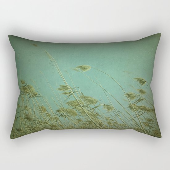 When the wind blows Rectangular Pillow