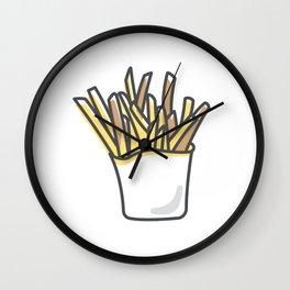 Fries Wall Clock