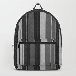 Grey,black Vertical stripes. Backpack