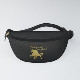 Magical As Fuck, Pretty, Funny, Quote Fanny Pack