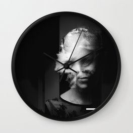 """mind your owN"""" Wall Clock"""