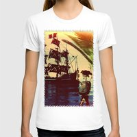 pirate ship T-shirts featuring pirate ship by Ancello