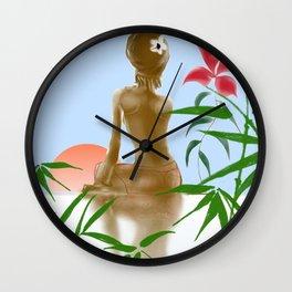 Sunrise Lights Wall Clock
