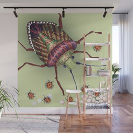 The Stink Bugs Are Coming! Wall Mural