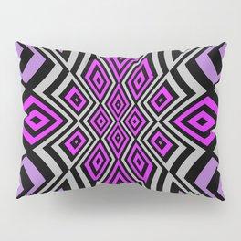 Floweresque pink purple Pillow Sham