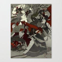 Hexennacht Canvas Print