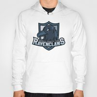 quidditch Hoodies featuring Hogwarts Quidditch Teams - Ravenclaw by Deadround