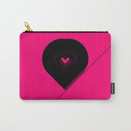 CRYPTIC HIPSTER HEART. Carry-All Pouch