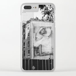 East Village V Clear iPhone Case