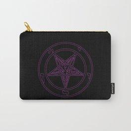 Das Siegel des Baphomet - The Sigil of Baphomet (purple reign) Carry-All Pouch