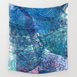 Moody blue Wall Tapestry